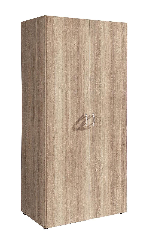 AVANTI TRENDSTORE - Balu 2 - Armadio ad ante a battente in laminato di quercia, dimensioni: LAP 81x177x52 cm