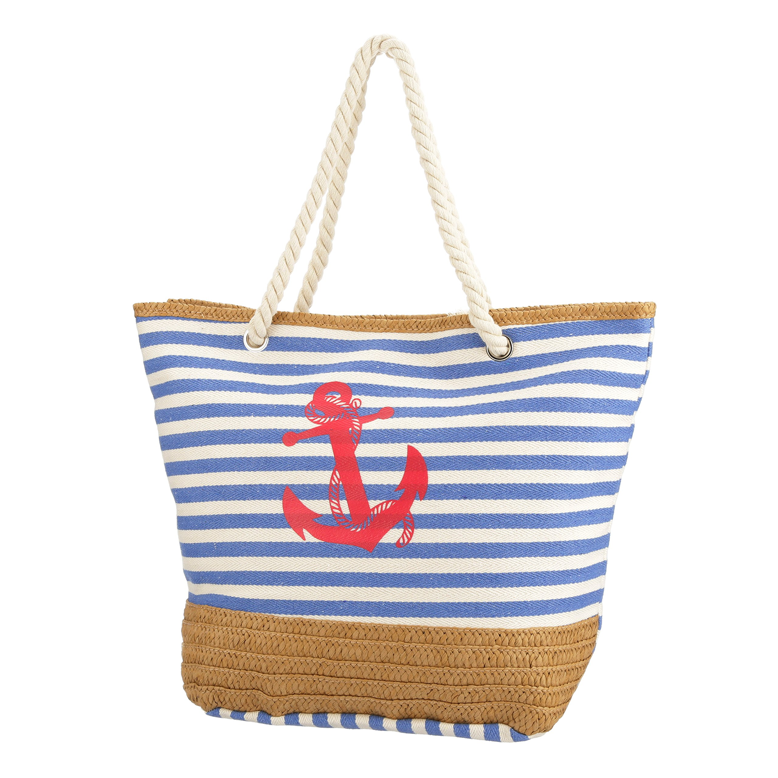 New Vera Tote Shoulder Bag (True Blue)