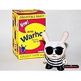 Andy Black Kidrobot Andy Warhol Dunny Vinyl Mini-Figures