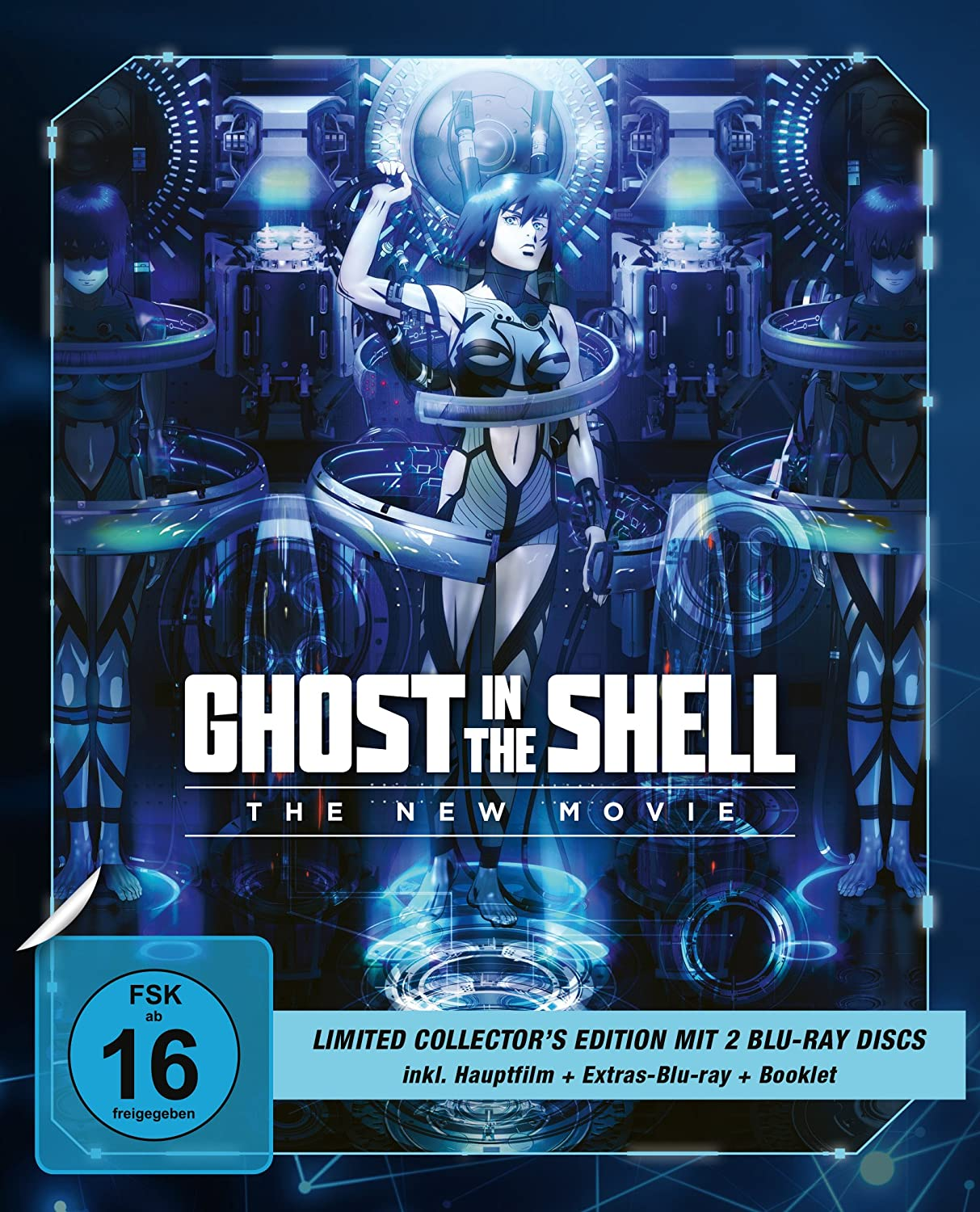 Ghost in the Shell - The New Movie - Limited Collectors Edition Blu-ray: Amazon.es: Kise, Kazuchika: Cine y Series TV