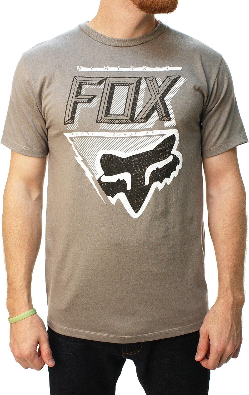 Fox Racing - Camiseta - camisa - para hombre Gris gris oscuro Talla:mediano: Amazon.es: Deportes y aire libre