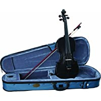 Stentor, 4-String Violin, Black, 4/4 (1401BK-4/4)