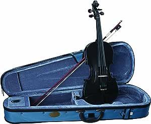 Stentor, 4-String Violin, Black, 4/4 (1401BK-4/4)
