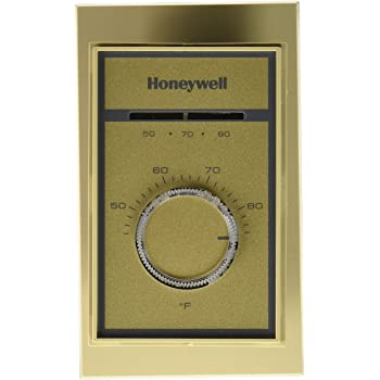 Honeywell t410b1004 1 heat electric thermostat 40 to 80 deg f 120 208 240 277 volt ac white for Th 450 termostato