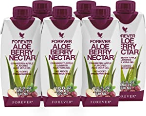 Forever Aloe Berry Nectar® Minis – Cranberry Apple Flavored - Pack of 6