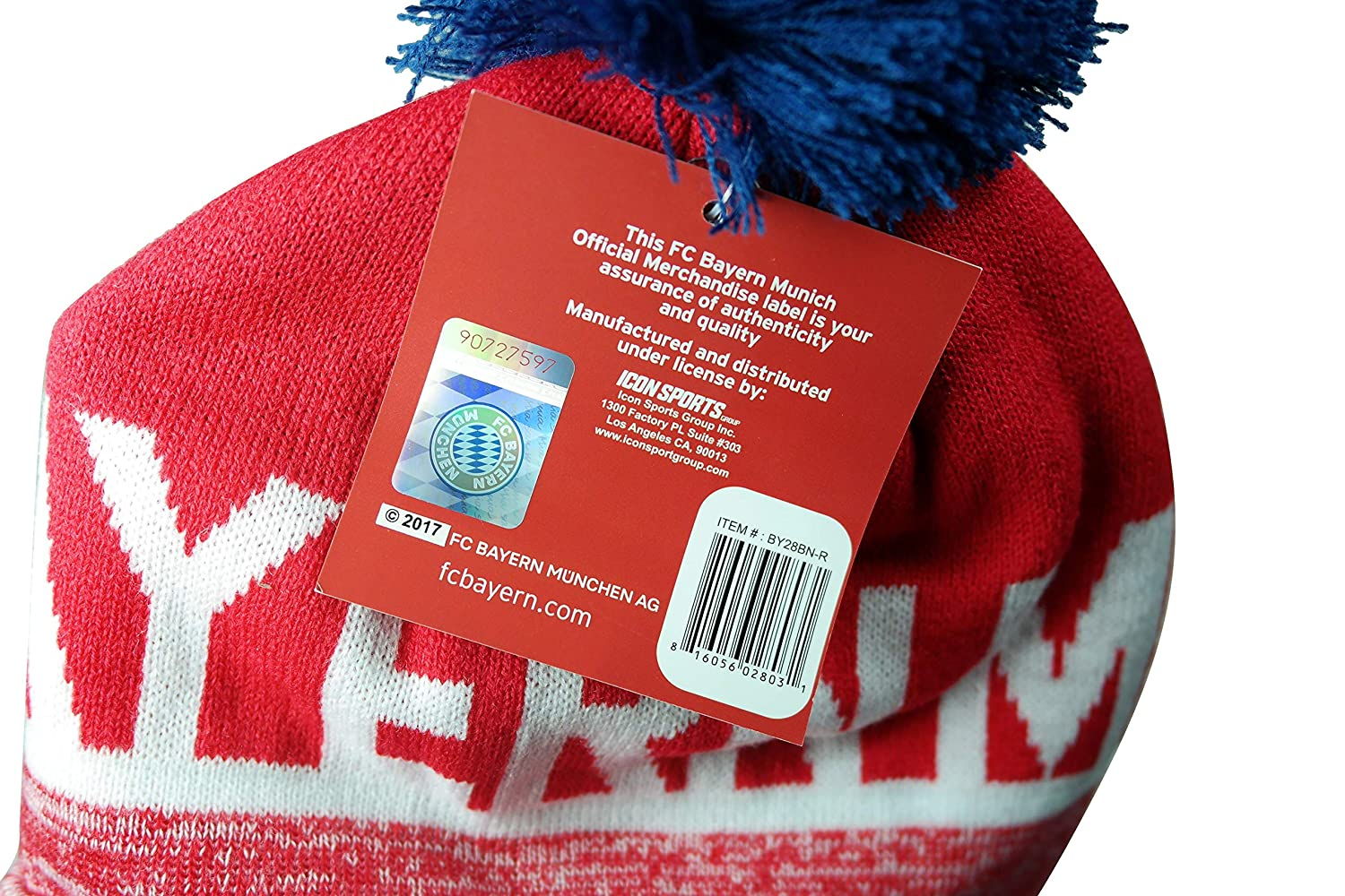 FC Bayern Authentic Official Licensed Product Soccer Beanie