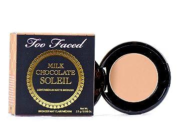 fc584c273104 Amazon.com: Too Faced Mini Milk Chocolate Soleil Bronzer Travel Size ...