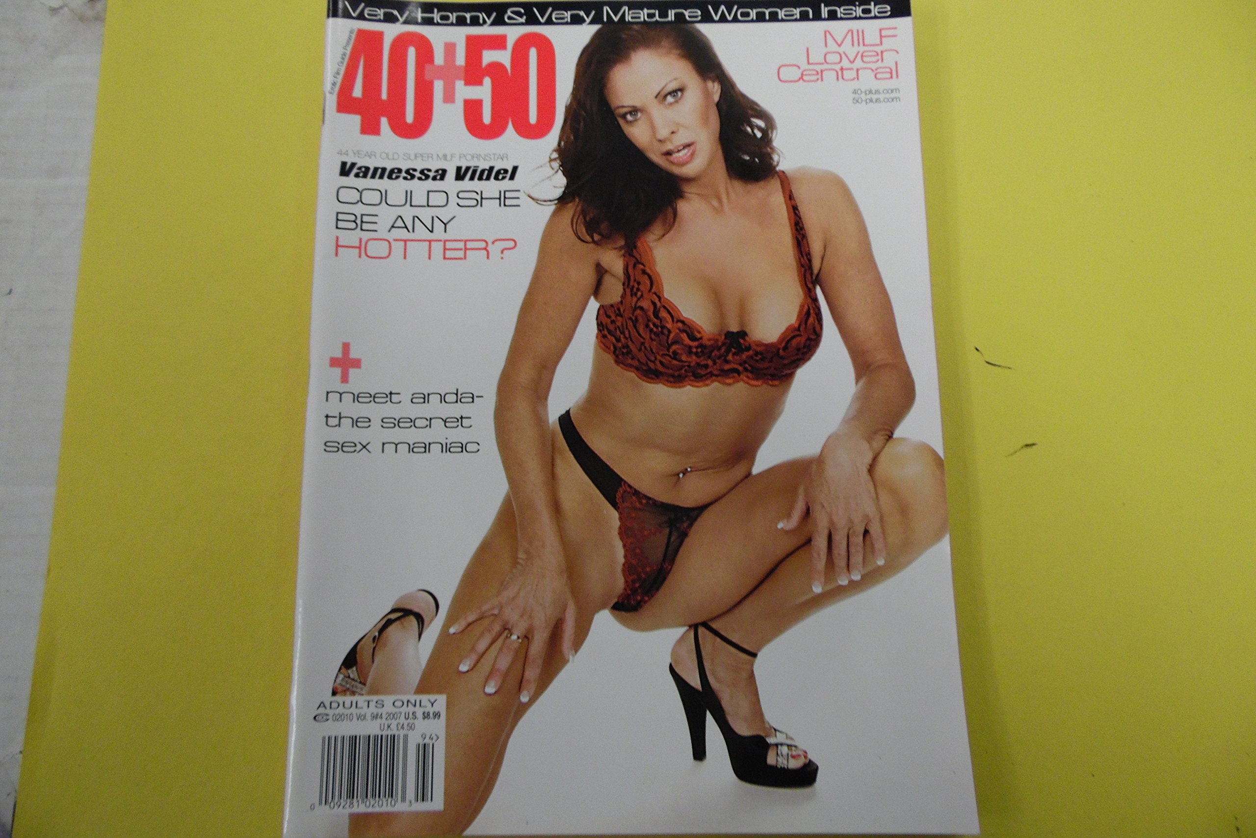 40 50 Mens Magazine Vanessa Videl Vol  Paperback 2007