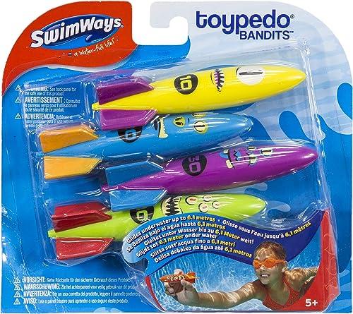 SwimWays-Toypedo-Bandits-Pool-Diving-Toys