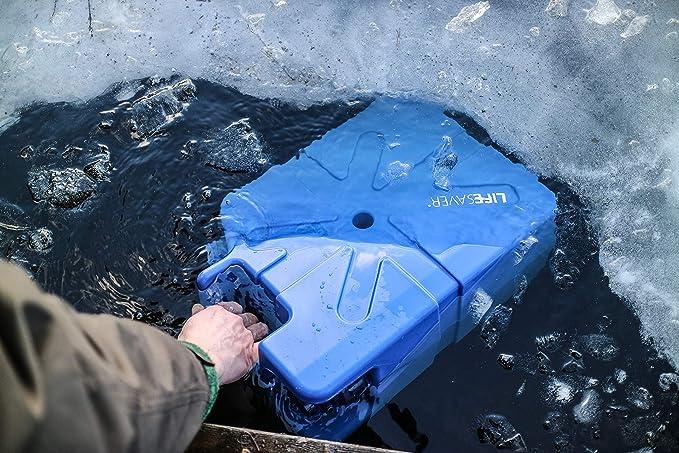 Lifesaver 20,000 Liter Capacity Filtering Can, Dark Blue