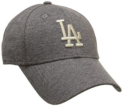 New Era Jersey Essential Wmn Los Angeles Dodgers graphite Khaki Women  9FORTY Cap 5530553bf07e