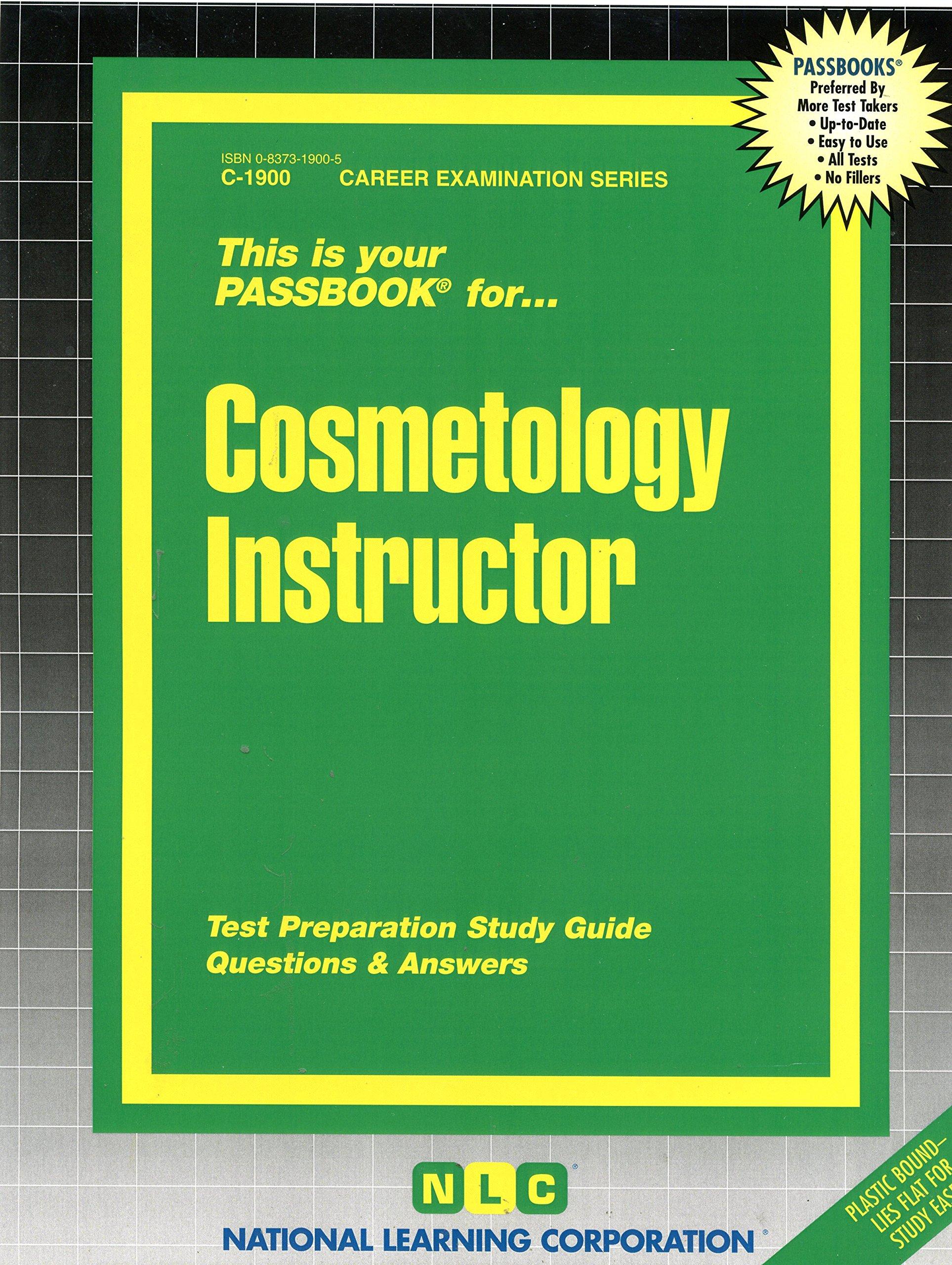 Cosmetology instructor passbooks passbooks 9780829319002 cosmetology instructor passbooks passbooks 9780829319002 amazon books fandeluxe Images