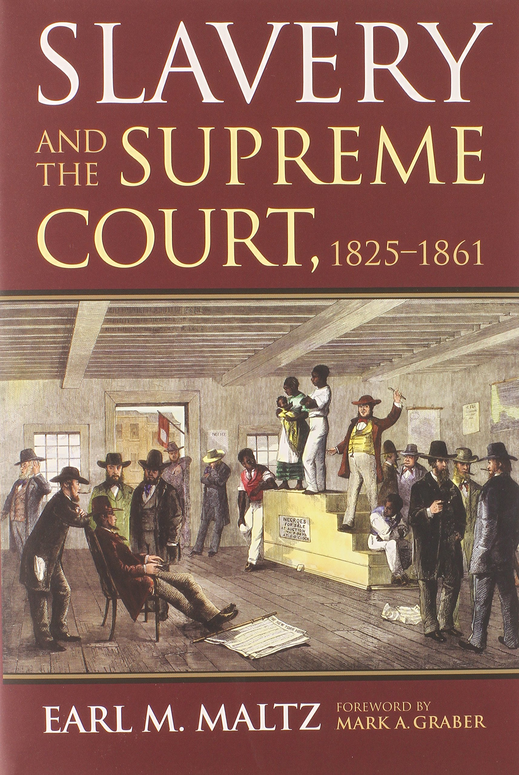 Read Online Slavery and the Supreme Court, 1825-1861 pdf