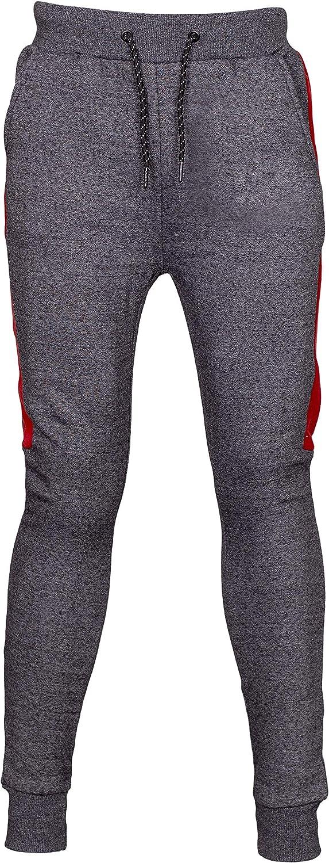 NOROZE Boys Girls Contrast Fleece Gym Sports Joggers Full Tracksuit Set Kids Hoodie Tops Bottom Trouser