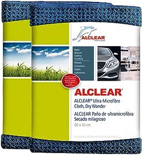 ALCLEAR 820901_2 Secador mágico, gamuza de microfibra para el coche, para el cuidado del