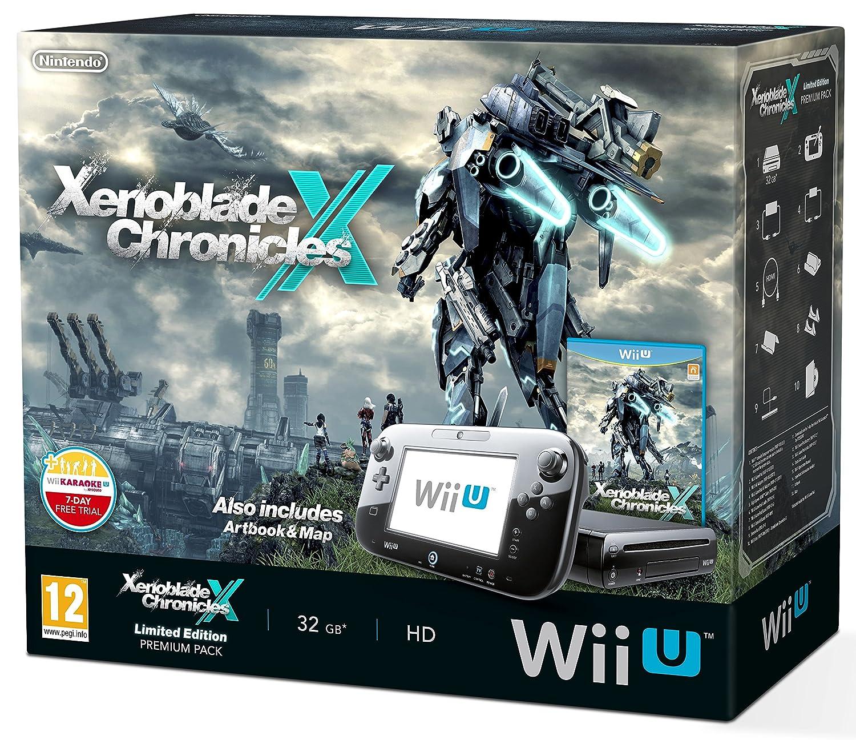 Nintendo Wii U 32GB Xenoblade Premium Pack - Black (Includes ...