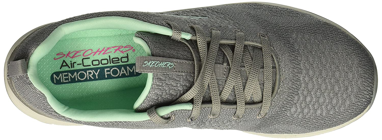 Skechers Women's Skyline Sneaker B078TT76V1 Mint 5.5 B(M) US|Grey Mint B078TT76V1 5ecf9f