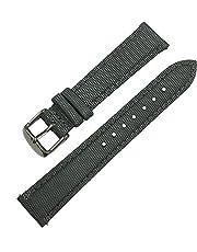 Quick Release nylon Sailcloth Watch Band, 5colori in nylon in pelle pieno fiore di ricambio in acciaio INOX orologio da polso con chiusura in metallo