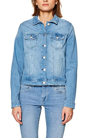 esprit donna giacca jeans