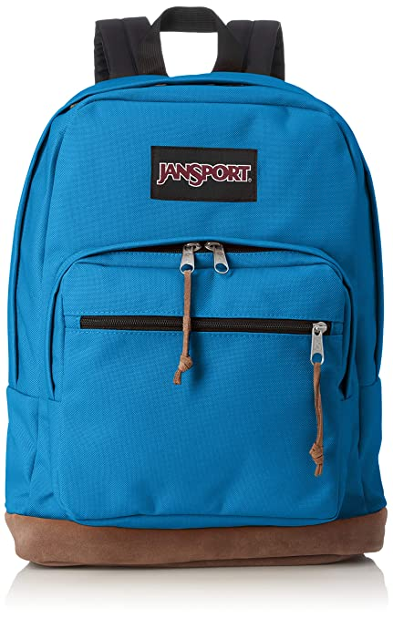 33f79fc08e22 Amazon.com  JanSport Right Pack Laptop Backpack - Mykonos Blue ...