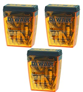 DEWALT DW2002B25#2 Phillips Bit Tip, Sold as 3 Pack, 75 Pieces Total