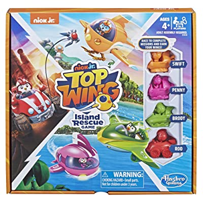 Hasbro Games Island Rescue Game: Toys & Games