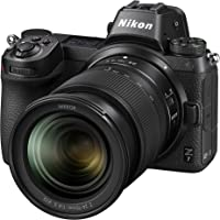 Nikon Z7 Mirrorless Digital Camera with Nikkor Z 24-70mm F/4 S Lens & FTZ Adapter Kit, Black