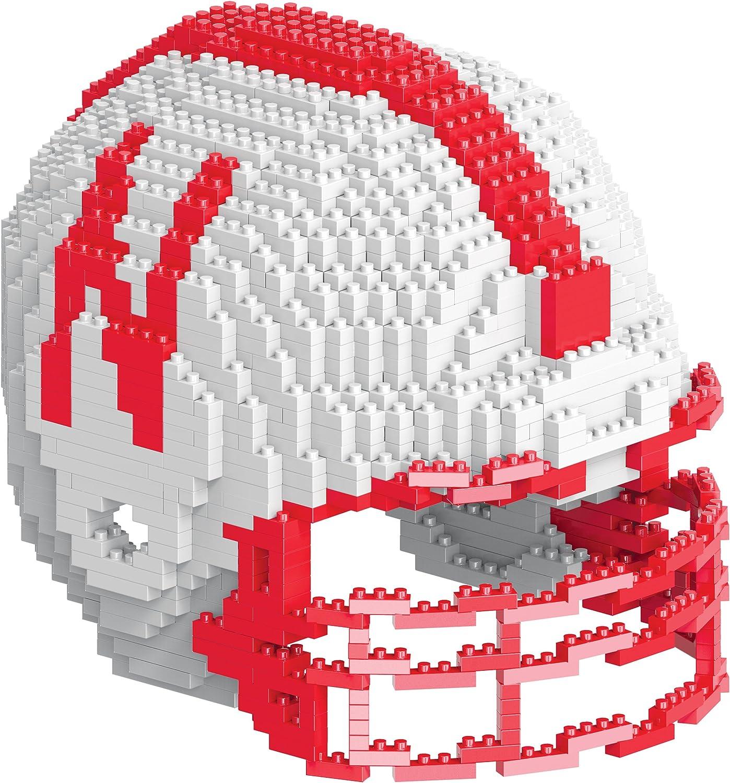 Nebraska 3D Brxlz - Helmet : Sports & Outdoors