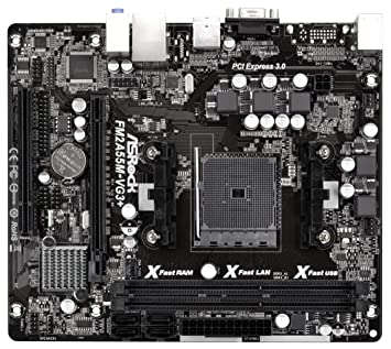 Asrock FM2A55M-DGS AMD All-in-1 Vista