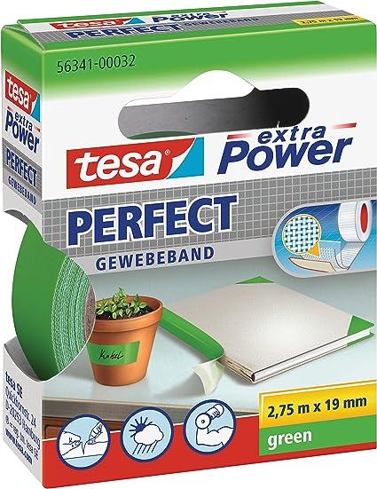 tesa extra Power 563410003202 Bande adh/ésive Vert 19 mm x 2.75 m