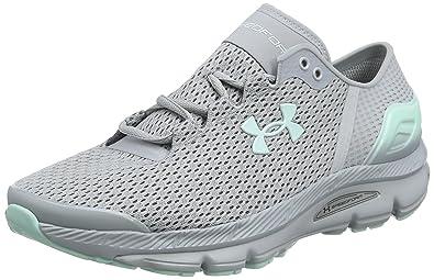 timeless design e7ec9 daa0a Under Armour UA W Speedform Intake 2, Chaussures de Running Compétition  Femme, Noir (