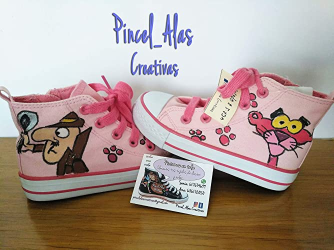 Zapatillas niño Pantera Rosa