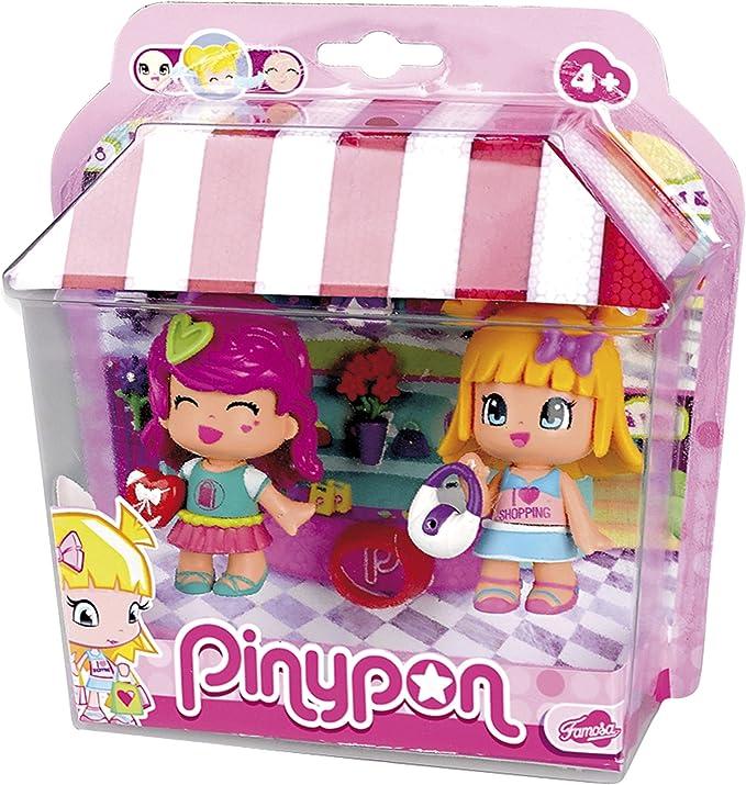 Amazon.es: Pinypon Pack figuras amigos de compras (Famosa ...
