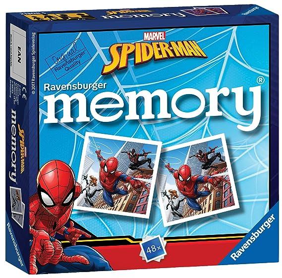 Ravensburger El Hombre Araña de Marvel minijuego de Memoria