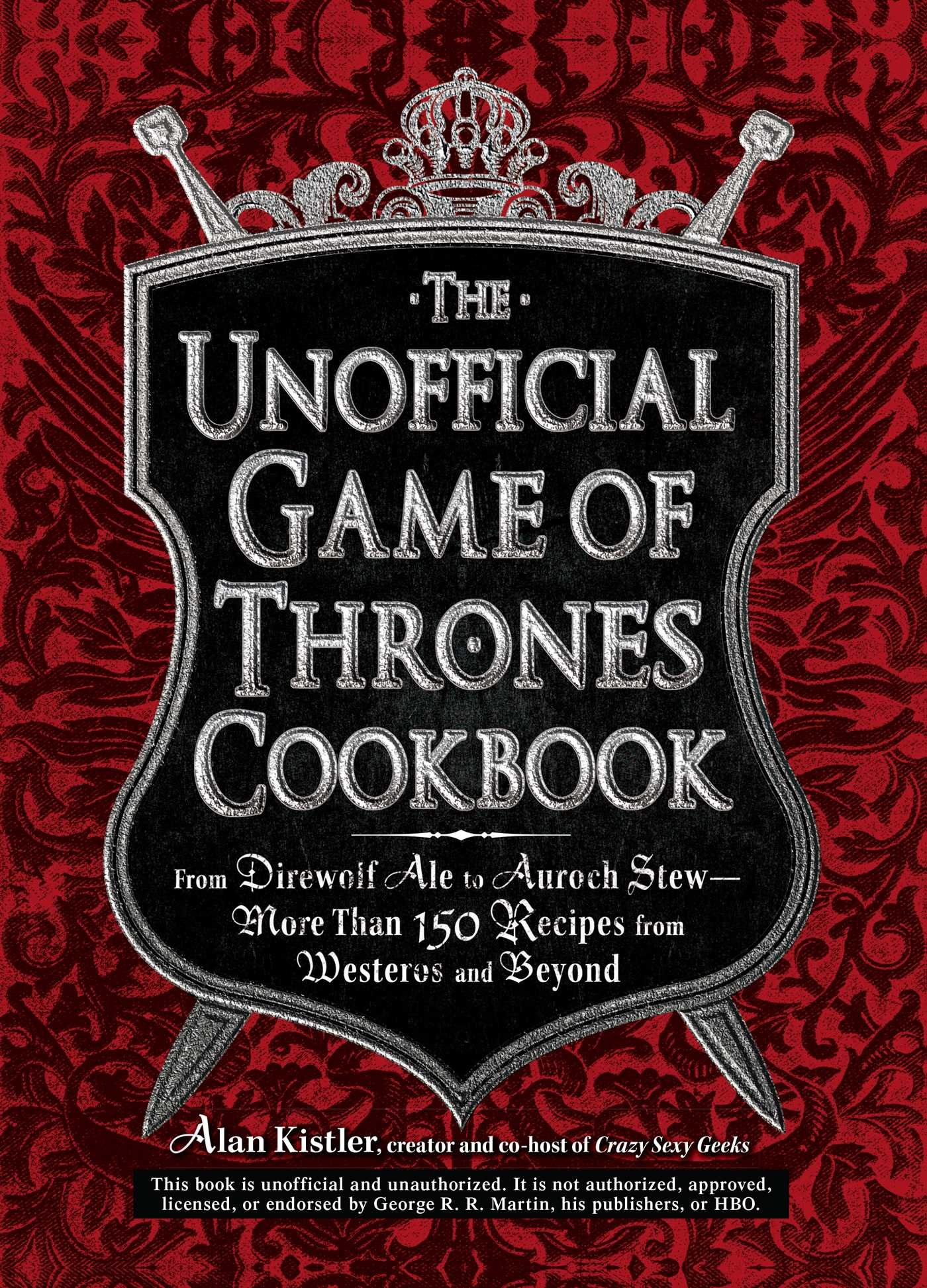 Unofficial Game Thrones Cookbook Direwolf product image