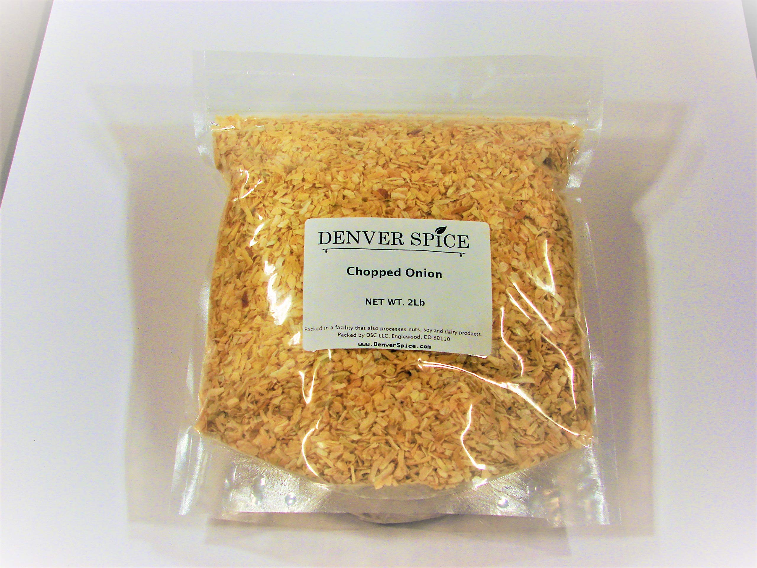 Onion,Chopped-2Lb-Large Cut of Dried Onion for Soups,Stews, and Roasts