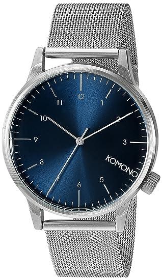 Komono Reloj Analógico de Cuarzo para Hombre con Correa de Acero Inoxidable – KOM-W2353