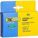 Tacwise 0345 Boîte de 2000 Agrafes galvanisées 6 mm Type 140