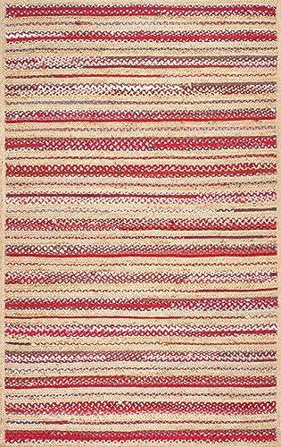 nuLOOM Taina Braided Stripes Rug