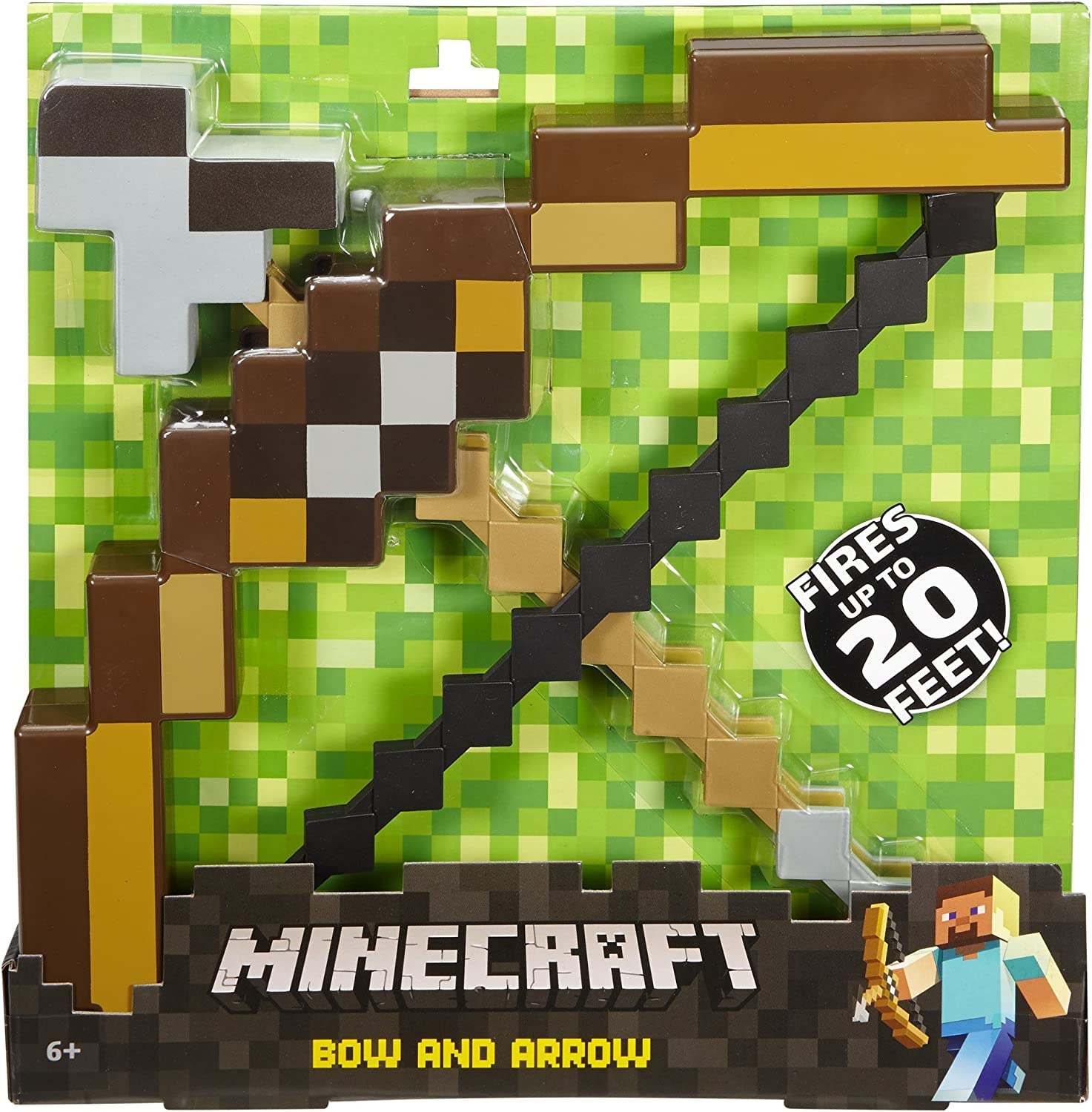 Amazon.com: Arco y flecha Minecraft: Toys & Games