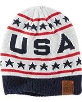 "OshKosh Boys Reversible ""USA"" Beanie, 2t-4t"