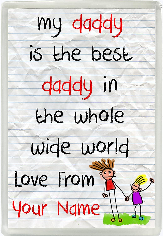 Mi papá es el mejor papá en el mundo amor de personalizada Jumbo ...