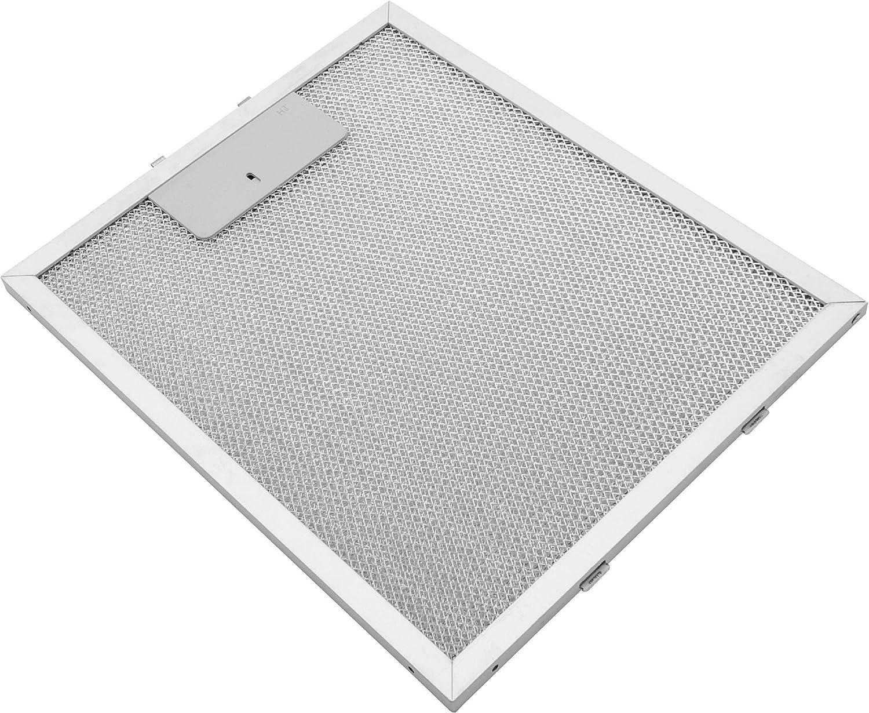 vhbw Filtro permanente metálico para grasa 27,7 x 23 x 0,9cm adecuado para AEG Electrolux DK 9390, DK 9690, DK 9690 M campana extractora metal: Amazon.es: Grandes electrodomésticos