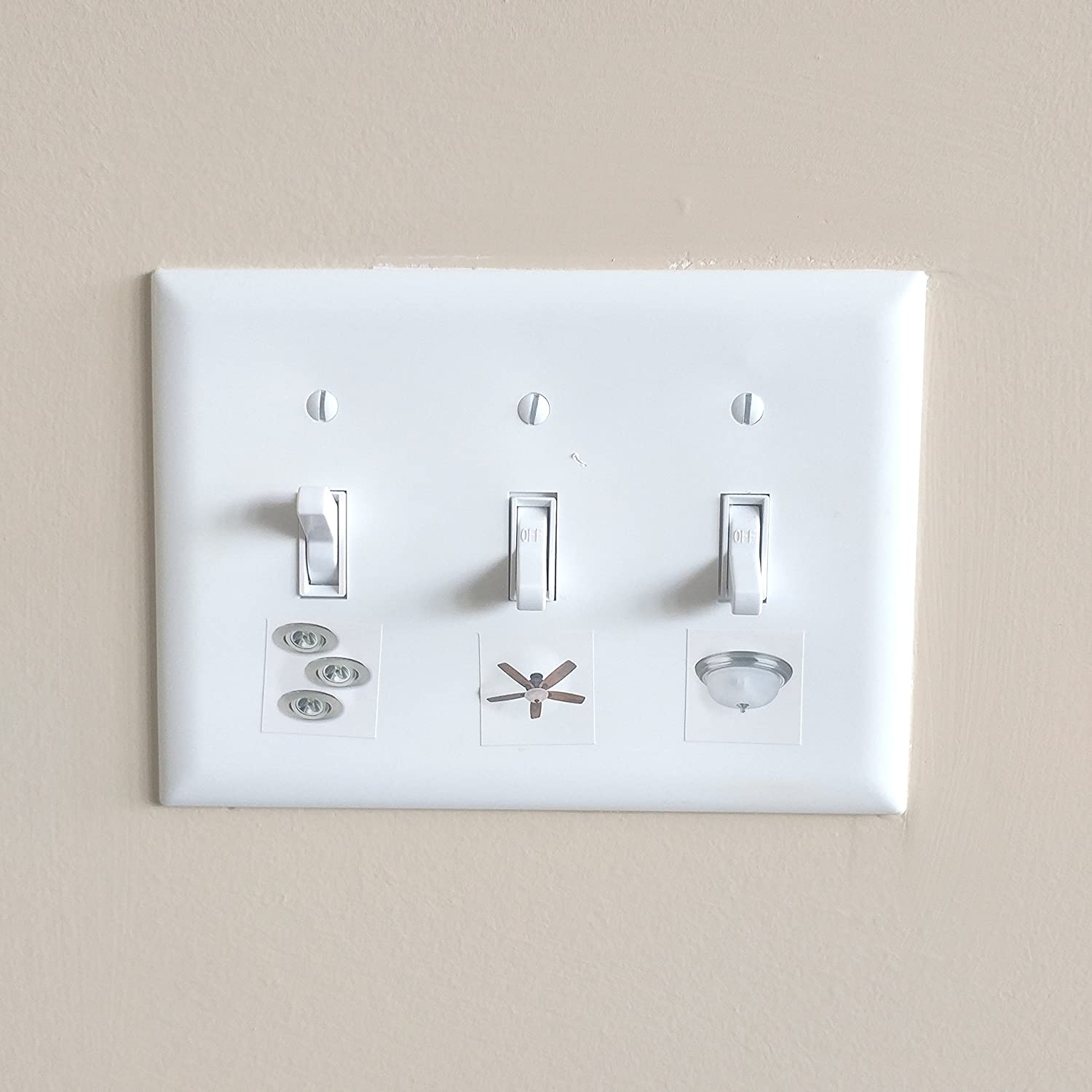 Correct Switch - Light Switch Labels