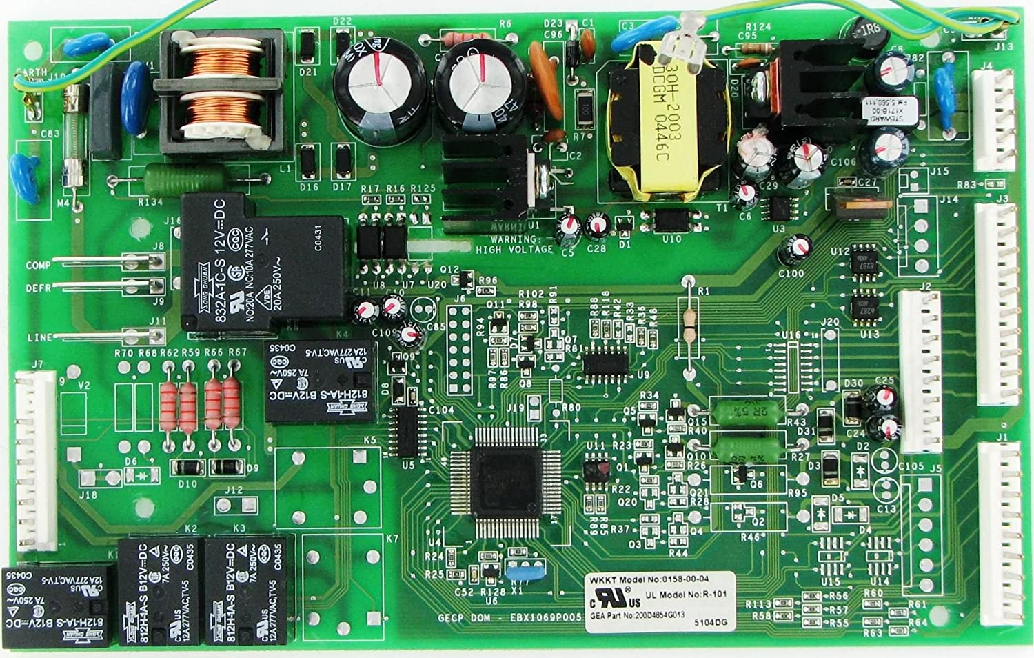 Refrigerator Main Control Board WR55X10942 works for GE Various Models