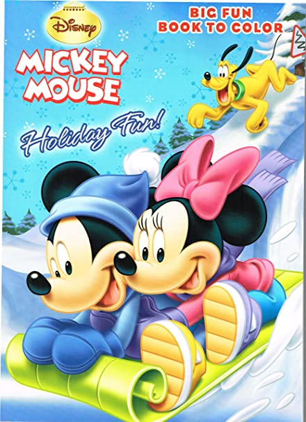 Disney Mickey Mouse And Goofy Christmas Coloring Book Holiday Fun