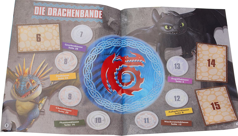 el libro de los dragones-sticker 28 Panini-Dragons