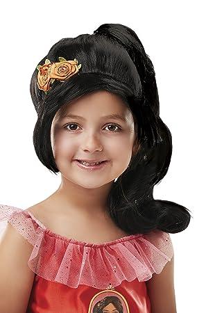 Rubies - Peluca infantil de Elena de Avalor con coleta, para ...