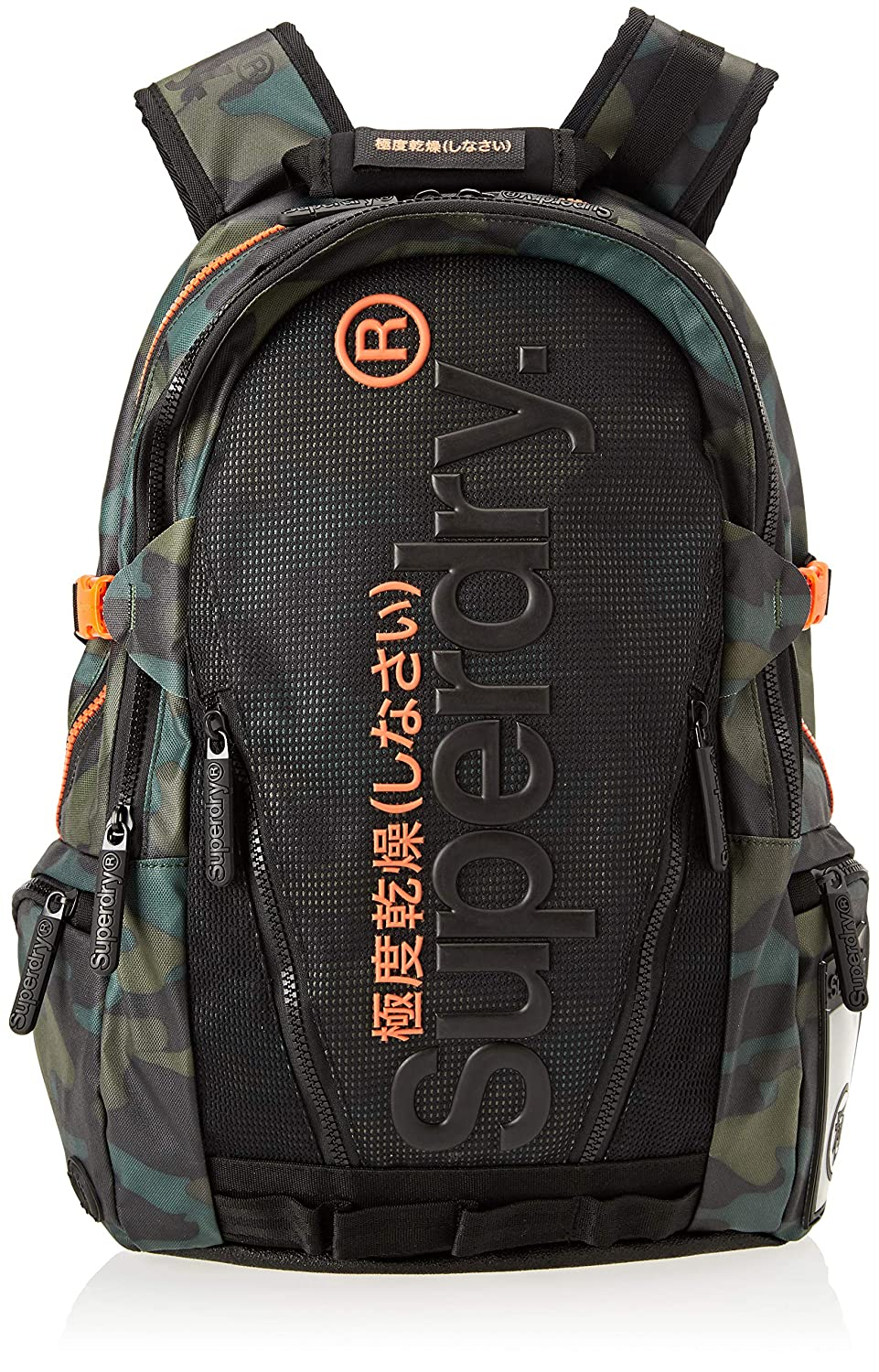 Amazon.com: Superdry Mesh Tarp, Mens Backpack, Black (Alpine Black), 34x45x15 cm (W x H L): Shoes