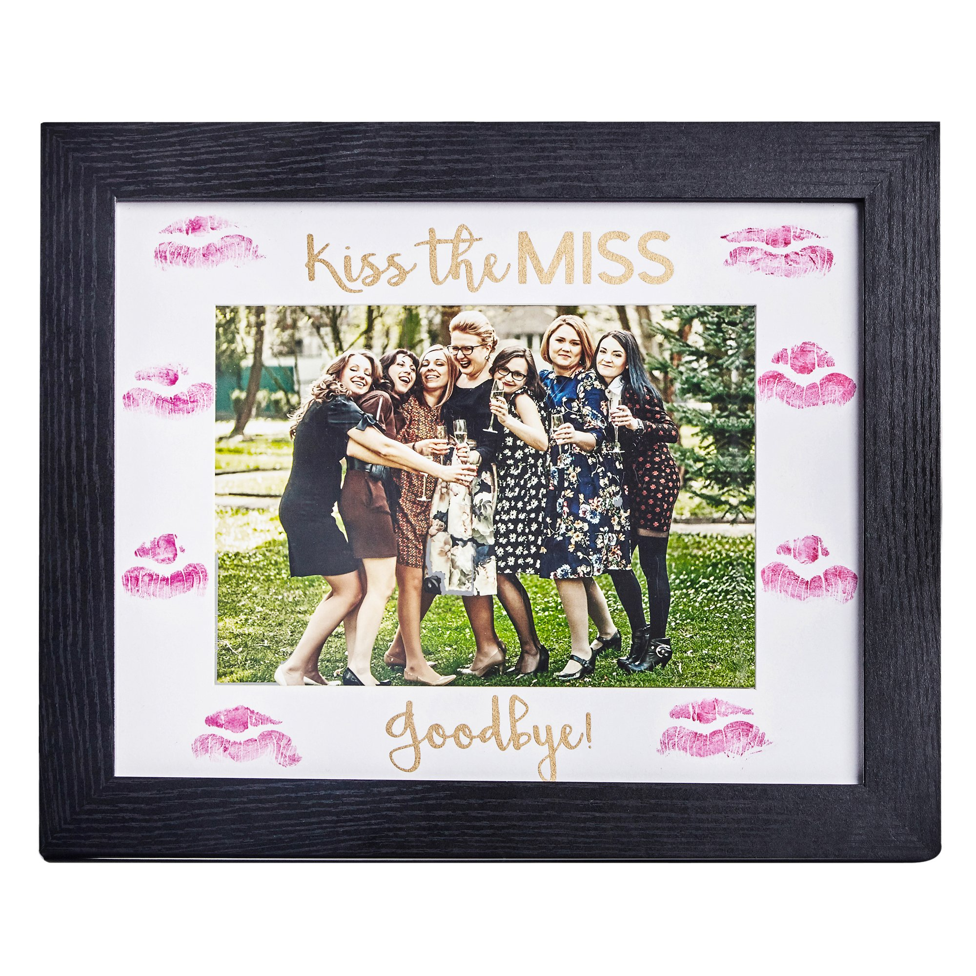Bachelorette Box Bachelorette Party Picture Frame by Kiss the Miss Goodbye